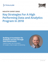 Key Strategies For A High Performing Data and Analytics Program In 2018