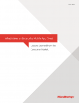 What Makes an Enterprise Mobile App Great