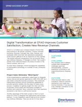 Digital Transformation at CFAO Improves Customer Satisfaction