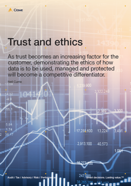 Trust and ethics