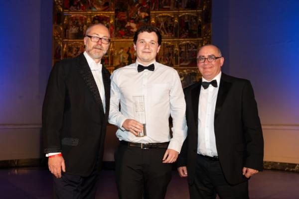 DataIQ Awards 2019 - Data apprentice of the year: Matt Furrer, data apprentice, Barclaycard