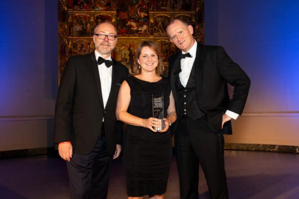 DataIQ Awards 2019 - Data and analytics leader of the year (Data Titan): Anita Fernqvist, chief data officer, Zurich Insurance UK