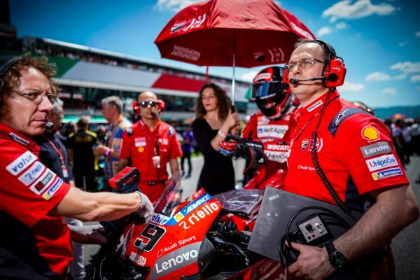 MotoGP: How Ducati goes racing with data (and beyond)