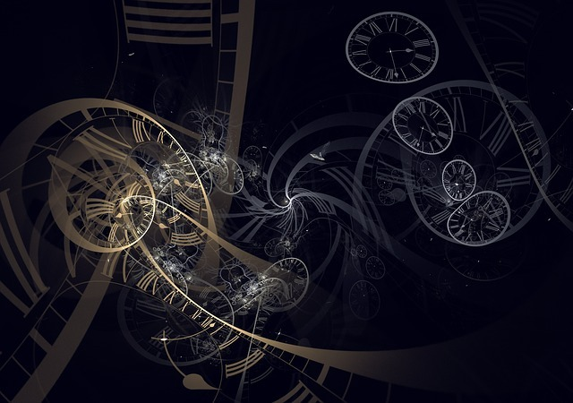 Time and fractals