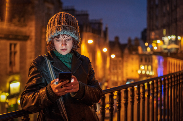Woman smartphone Edinburgh.jpg