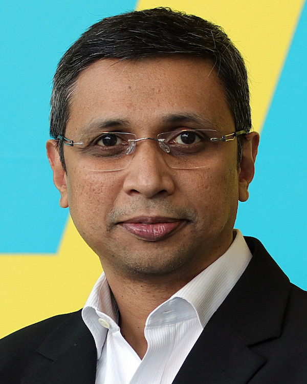 "Satrajit ""Satty"" Saha, chief executive, TransUnion in the UK"