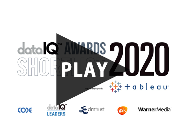 DataIQ Awards 2020 Shortlist Reveal