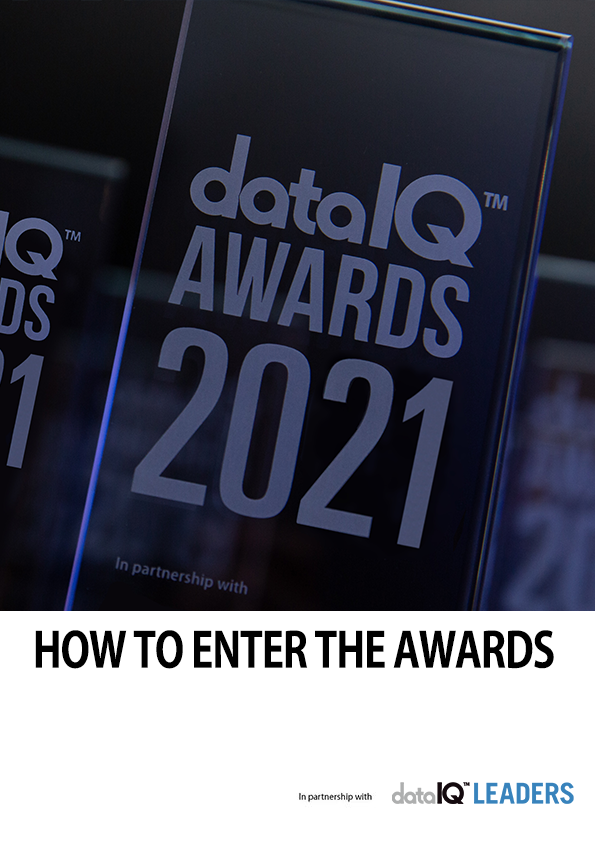 How to enter the DataIQ Awards 2021