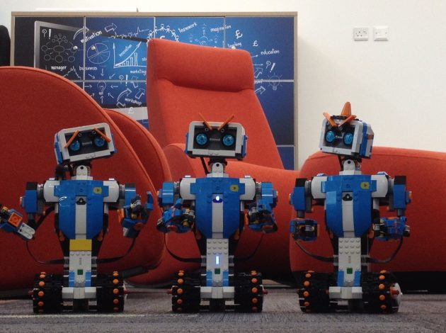 Lego robots at the Data Science Campus of the ONS