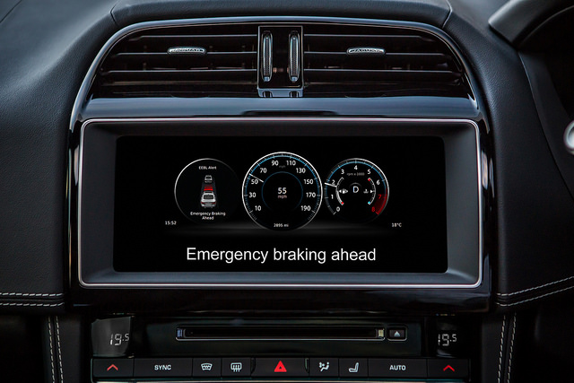 Advanced braking system dashboard