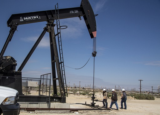 Giant oil well