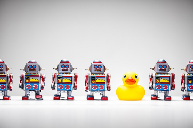 Robots and rubber duck