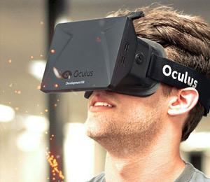 Image: Oculus Rift being worn by a man