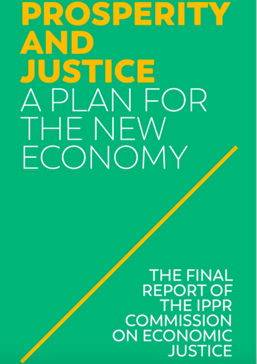 IPPR Commission on Economic Justice report