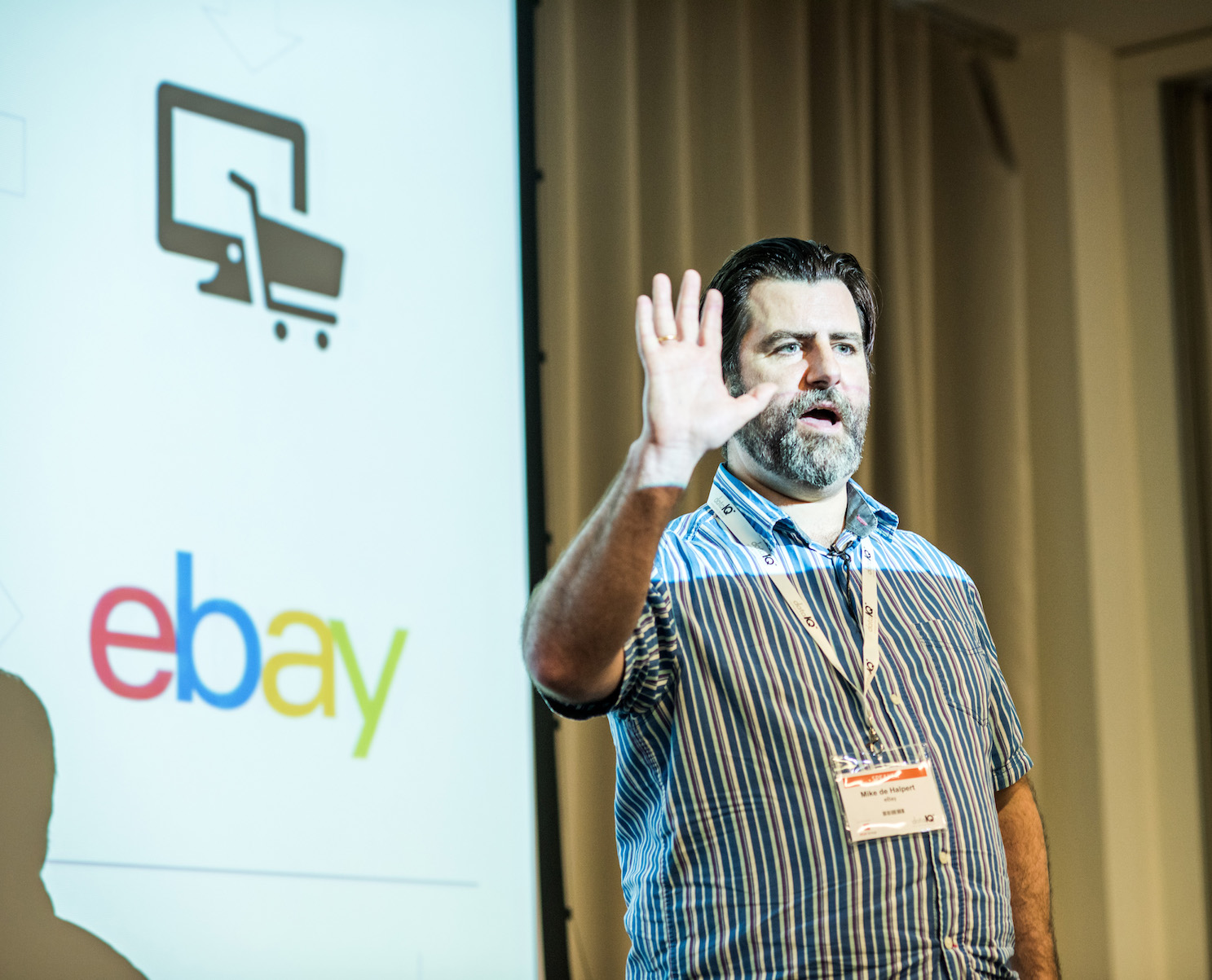 Mike de Halpert, director of European analytics, eBay