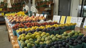 Marketplace fruit and vegetables